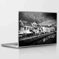 sweden Laptop & iPad Skins featuring Sweden by alexaxm