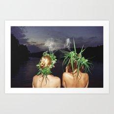 Midsummer Art Print