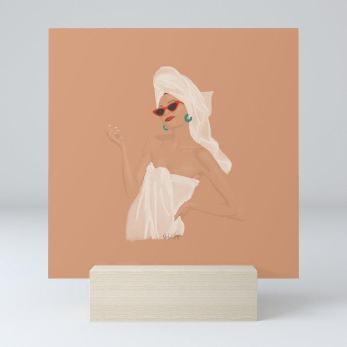 Spa Day Mini Art Print