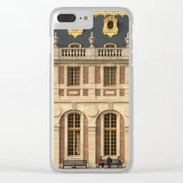 trois Clear iPhone Case