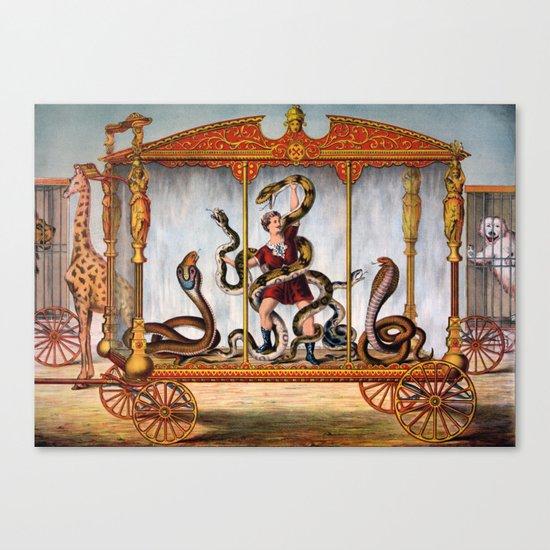 Snake 4 Canvas Print