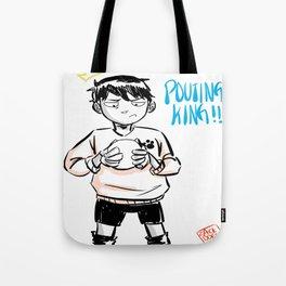kageyama tobio pouting king! Tote Bag