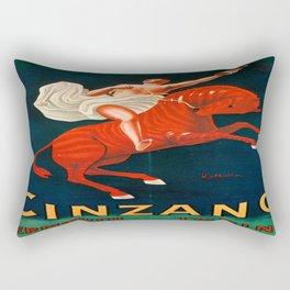 Vintage poster - Cinzano Vermouth Torino Rectangular Pillow
