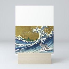 Schnauzer 2 Mini Art Print