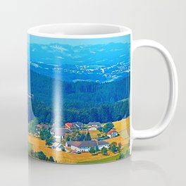 One summer day in the highlands Coffee Mug