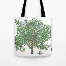 BB&PPINC Tree Print Tote Bag