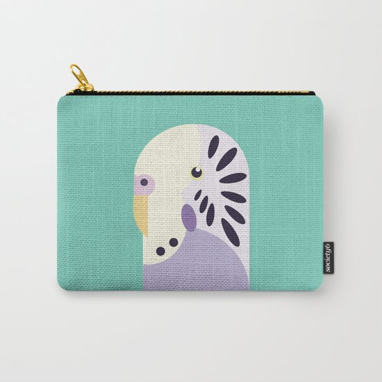 Budgerigar 3 Carry-All Pouch