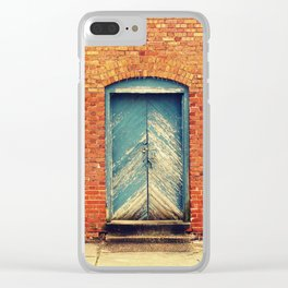 Abandoned Beauty Clear iPhone Case