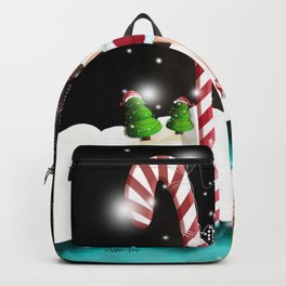 Ms. Santa's Whispering Candy Cane extended Backpack