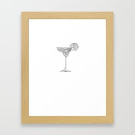Drinking Tequila Because It's Mexico Somewhere Framed Art Print