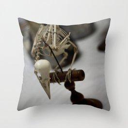 Bones Throw Pillow