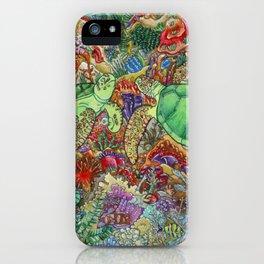 Turtle Love iPhone Case