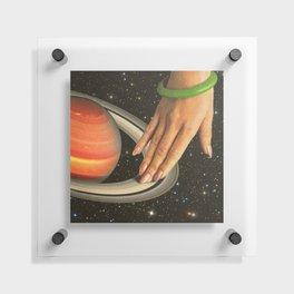 Cosmic Spin - Vinyl Scratch Floating Acrylic Print