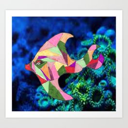 Isabella the Fish Art Print
