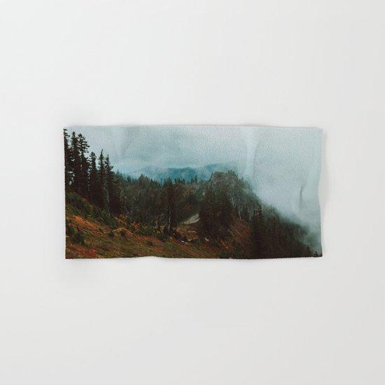Park Butte Lookout - Washington State Hand & Bath Towel