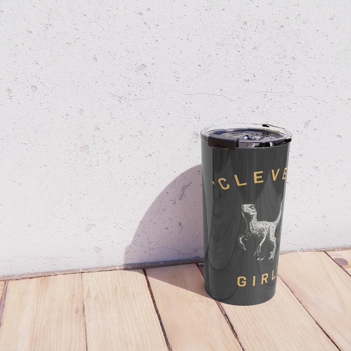 Clever Girl (Dark) Travel Mug