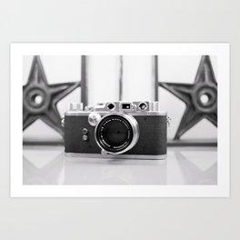 Nicca Rangefinder Camera - 1950s Art Print