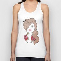 tattoos Tank Tops featuring Tattoos by Lilyana Reyes