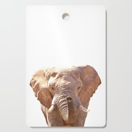 Elephant illustration Cutting Board