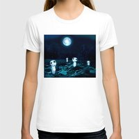 kodama T-shirts featuring Princess Mononoke (Kodama) by pkarnold + The Cult Print Shop