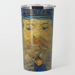 Vincent Van Gogh - Portrait of the Postman Joseph Roulin Travel Mug