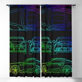 GR Supra Mk 5 Blackout Curtain