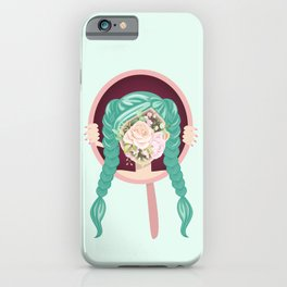 The blooming girl  iPhone Case
