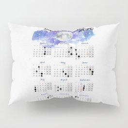 Moon calendar 2020 #10 Pillow Sham