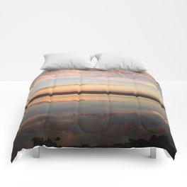 Tillamook Bay, Oregon Sunset Comforters