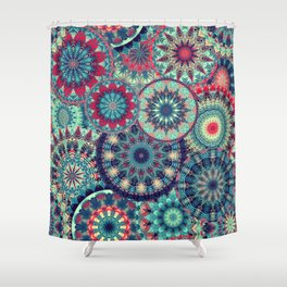 Mandala (Floral 1) Shower Curtain