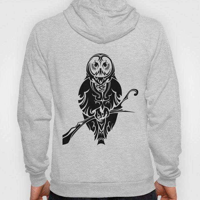 Tribal Owl 2 Hoody
