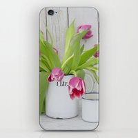 tulips iPhone & iPod Skins featuring Tulips by LebensART Photography