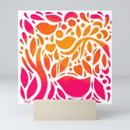 Sunshine Garden Mini Art Print