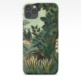 The Equatorial Jungle - Henri Rousseau iPhone Case