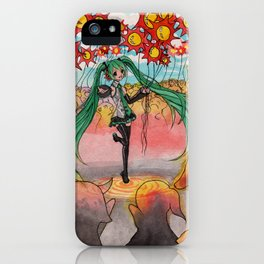 Hatsune Miku iPhone Case