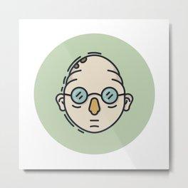 Professor Farnsworth Metal Print