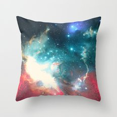 Echoes of the Stars Throw Pillow
