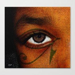 Hru's Eye Canvas Print