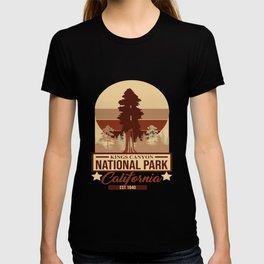 Kings Canyon National Park California Est 1940 T-shirt