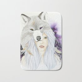 Wolf Totem - Totem Series Bath Mat