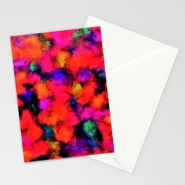 Bright Rainbow Colors Stationery Cards