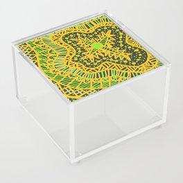 Doodle 16 Yellow Acrylic Box