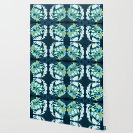 Abstract #3: Blue Marine Dream Wallpaper