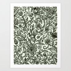 Garden of Relief and Affliction Art Print