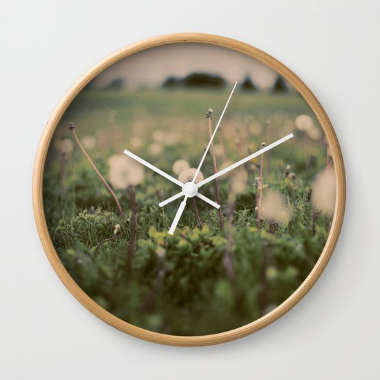 Forgotten Wishes Wall Clock