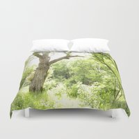 narnia Duvet Covers featuring NARNIA - The Forest  by Lord Elion
