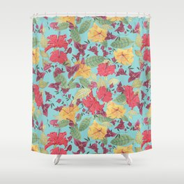 Maroc Tropicana Shower Curtain