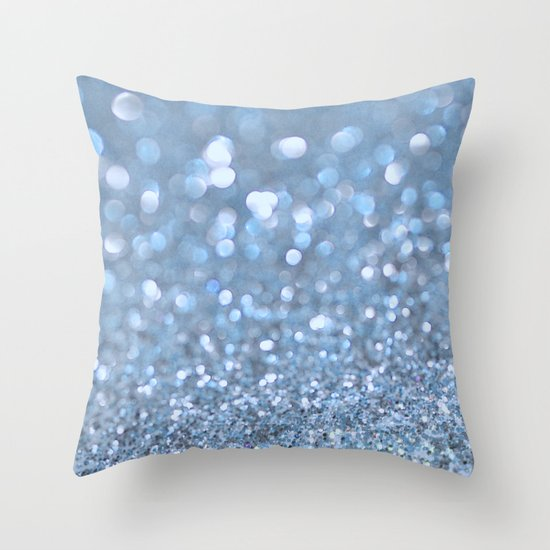 Baby Baby Blue Throw Pillow