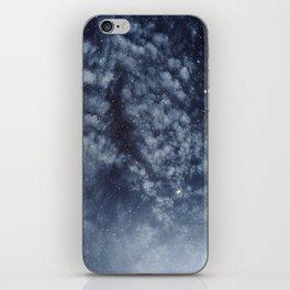 Blue veiled moon II iPhone Skin
