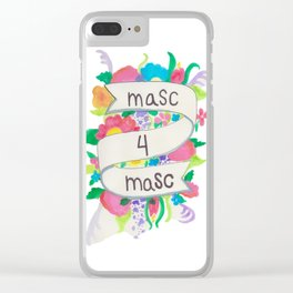 Masc 4 Masc Clear iPhone Case